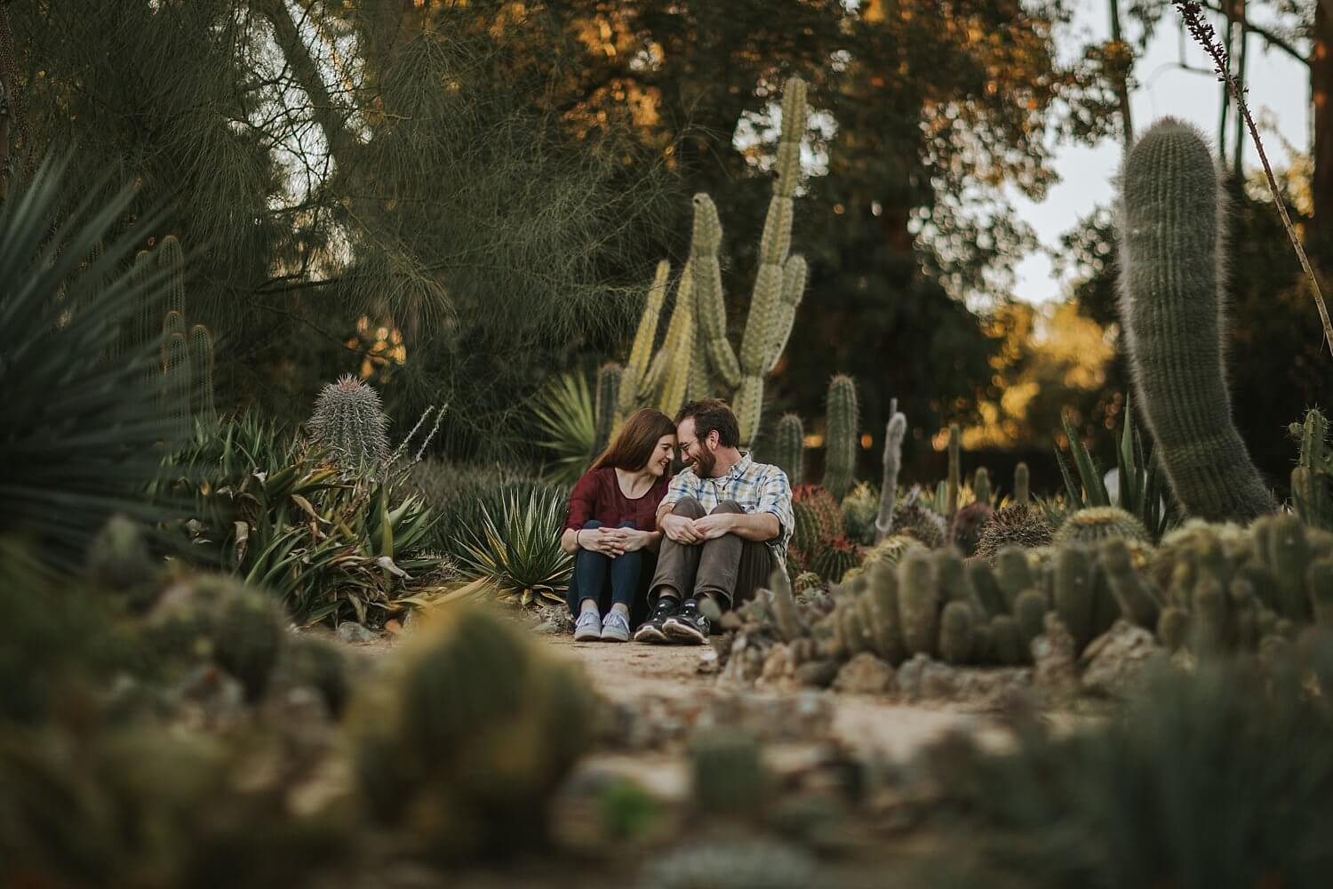 ... Cute, And Silly Engagement Shoot In Palo Alto On Stanford Campus  Arizona Cactus ...
