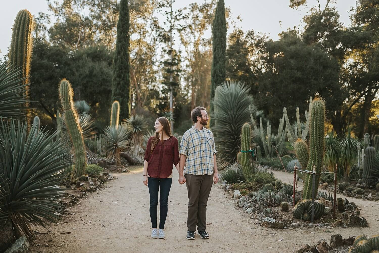 Charmant ... Cute, And Silly Engagement Shoot In Palo Alto On Stanford Campus  Arizona Cactus ...
